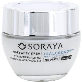 Soraya Hyaluronic Microinjection ingrijire nutritiva pentru regenerarea și reînnoirea pielii notino.ro