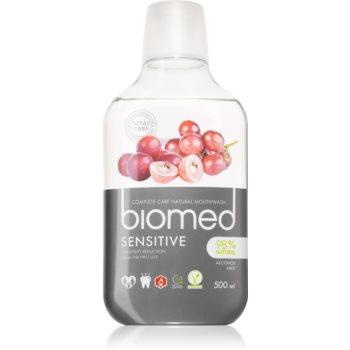 Splat Biomed Sensitive apă de gură pentru dinți și gingii sensibile imagine 2021 notino.ro