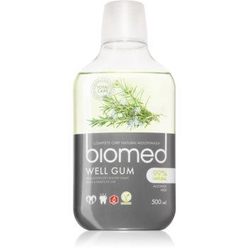 Splat Biomed Well Gum apa de gura pentru gingii iritate cu uleiuri esentiale imagine 2021 notino.ro