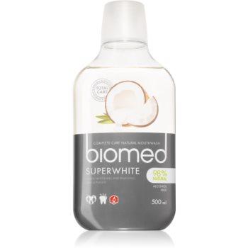 Splat Biomed Superwhite apa de gura cu efect de albire imagine 2021 notino.ro