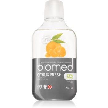 Splat Biomed Citrus Fresh apa de gura pentru o respiratie proaspata de lunga durata image0