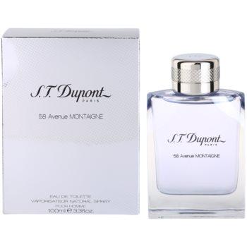 S.T. Dupont 58 Avenue Montaigne Eau de Toilette pentru bărbați imagine 2021 notino.ro