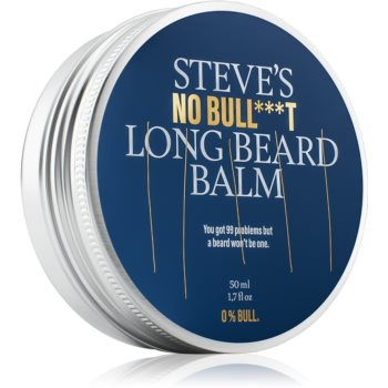Steve´s No Bull***t Long Beard Balm balsam pentru barba imagine 2021 notino.ro