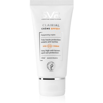 SVR Clairial crema protectiva impotriva petelor pigmentare SPF 50+ imagine 2021 notino.ro