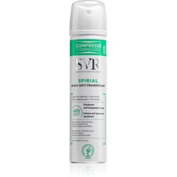 SVR Spirial spray anti-perspirant cu o eficienta de 48 h imagine 2021 notino.ro