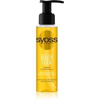 Syoss Beauty Elixir ulei de ingrijire pentru par deteriorat imagine 2021 notino.ro