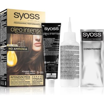 Syoss Oleo Intense Culoare permanenta pentru par cu ulei imagine 2021 notino.ro
