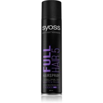Syoss Full Hair 5 fixativ pentru păr cu fixare foarte puternică imagine 2021 notino.ro