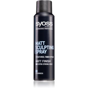 Syoss Matt Sculpting spray modelator cu efect matifiant imagine 2021 notino.ro
