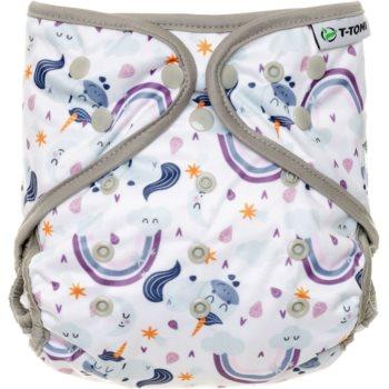 T-Tomi Diaper Covers Unicorns scutece tip chiloțel 4-15 kg