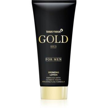 Tannymaxx Gold 999,9 lapte de bronzare la solar pentru barbati imagine 2021 notino.ro