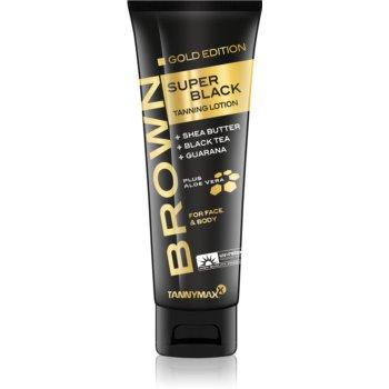 Tannymaxx Brown Super Black Gold Edition Crema de bronzare la solar pentru intensificarea bronzului notino.ro
