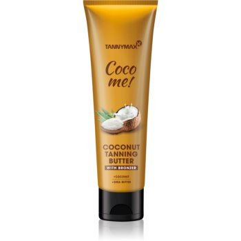 Tannymaxx Coco Me! Coconut unt de corp cu bronzer pentru un bronz de lunga durata imagine 2021 notino.ro