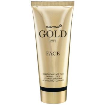 Tannymaxx Gold 999,9 crema de fata pentru accelerarea bronzului imagine 2021 notino.ro