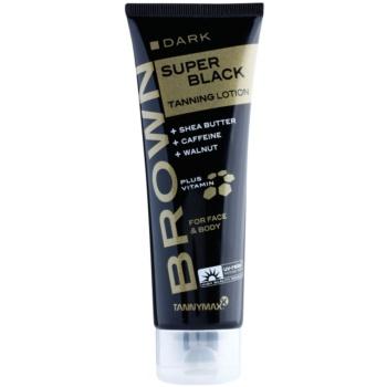Tannymaxx Brown Super Black Dark Crema de bronzare la solar imagine 2021 notino.ro