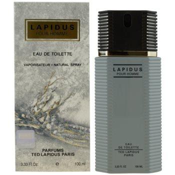 Ted Lapidus Lapidus Pour Homme Eau de Toilette pentru bărbați
