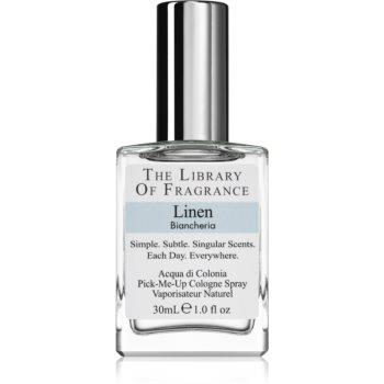 The Library of Fragrance Linen eau de cologne unisex imagine 2021 notino.ro