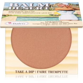 theBalm Balm Desert blush pentru bronz imagine 2021 notino.ro