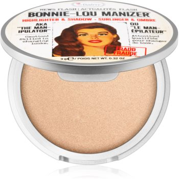 theBalm Bonnie - Lou Manizer corector iluminator, pudra cu efect de stralucire si fard de ochi intr-unul singur imagine 2021 notino.ro