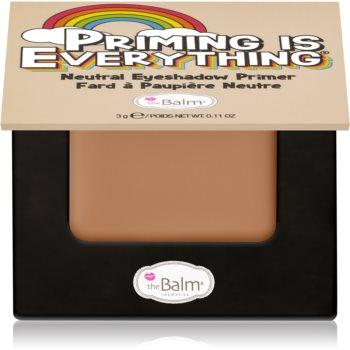 theBalm Priming is Everything baza pentru fardul de ochi imagine 2021 notino.ro