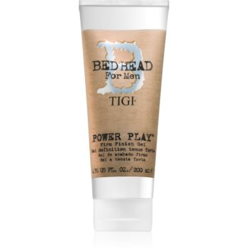 TIGI Bed Head B for Men Power Play styling gel fixare puternică imagine 2021 notino.ro