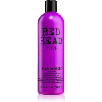 TIGI Bed Head Dumb Blonde balsam pentru parul tratat chimic imagine 2021 notino.ro