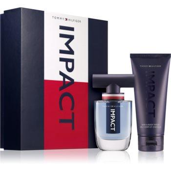 Tommy Hilfiger Impact Impact toaletní voda pro muže 50 ml + Impact šampon a mycí gel 2 v 1 100 ml