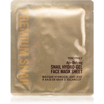 TONYMOLY Premium Snail mască revitalizantă cu hidrogel, cu extract din melcidin melci imagine 2021 notino.ro