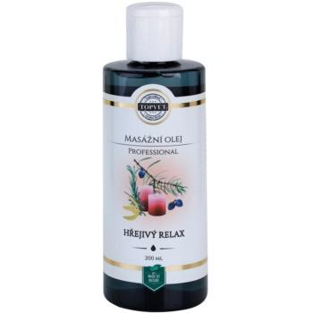 Topvet Professional ulei relaxant pentru masaj - cald imagine 2021 notino.ro