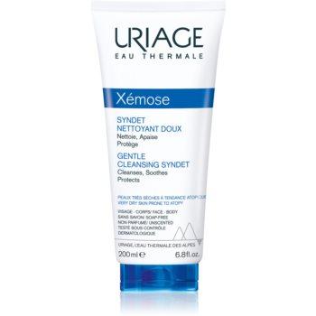 Uriage Xémose Gentle Cleansing Syndet gel crema restorativ pentru curatare delicata pentru piele uscata spre atopica imagine 2021 notino.ro