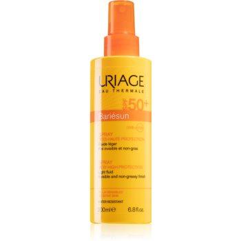 Uriage Bariésun Spray SPF 50+ spray protector pentru plajă SPF 50+ notino.ro