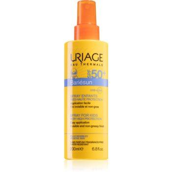 Uriage Bariésun Spray for Kids SPF 50+ spray pentru protectie solara pentru copii SPF 50+ imagine 2021 notino.ro
