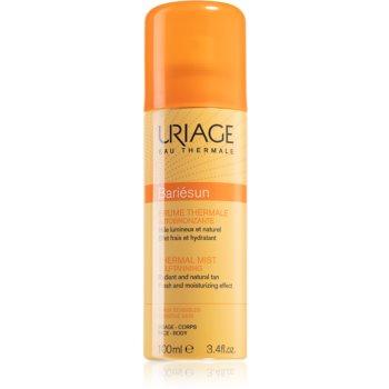Uriage Bariésun Thermal Mist Self-Tanning spray auto-bronzant corp si fata notino.ro