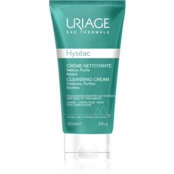 Uriage Hyséac Cleansing Cream cremă de curățare pentru pielea cu imperfectiuni