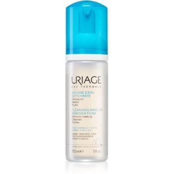 Uriage Hygiène Cleansing Make-up Remover Foam spuma de curatare pentru piele normala si grasa imagine 2021 notino.ro