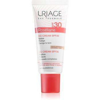 Uriage Roséliane CC Cream SPF 30 crema CC pentru piele sensibila cu tendinte de inrosire imagine 2021 notino.ro