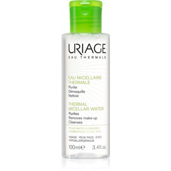Uriage Hygiène Thermal Micellar Water - Combination to Oily Skin apa pentru curatare cu particule micele pentru ten gras și mixt notino.ro
