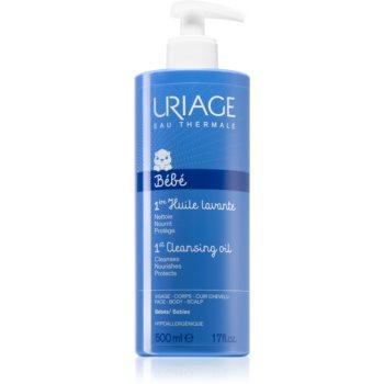 Uriage Bébé 1st Cleansing Oil ulei de curatare pentru fata, corp si scalp imagine 2021 notino.ro