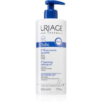 Uriage Bébé 1st Cleansing Soothing Oil ulei calmant pentru curatare pentru piele uscata spre atopica imagine 2021 notino.ro