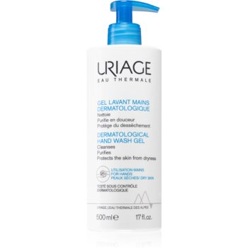 Uriage Hygiène Dermatological Hand Wash Gel gel de curatare hidratant de maini imagine 2021 notino.ro