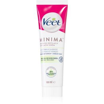 Veet Silk & Fresh crema depilatoare pentru piele uscata imagine 2021 notino.ro
