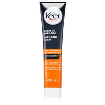 Veet Men Silk & Fresh cremă depilatoare cu efect hidratant pentru piele normala imagine 2021 notino.ro