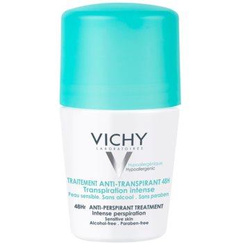 Vichy Deodorant antiperspirant roll-on impotriva transpiratiei excesive imagine 2021 notino.ro