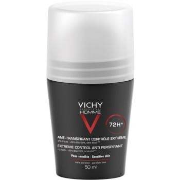 Vichy Homme Deodorant antiperspirant roll-on impotriva transpiratiei excesive imagine 2021 notino.ro