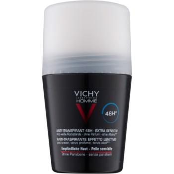 Vichy Homme Deodorant antiperspirant roll-on fara parfum imagine 2021 notino.ro
