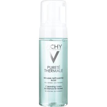 Vichy Pureté Thermale spuma de curatat pentru o piele mai luminoasa notino.ro