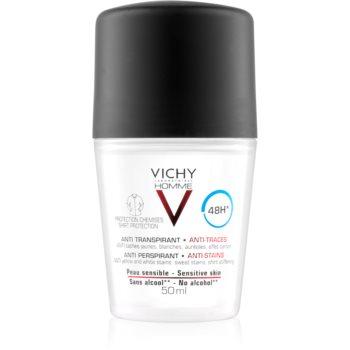 Vichy Homme Deodorant deodorant roll-on împotriva petelor albe și galbene 48 de ore imagine 2021 notino.ro