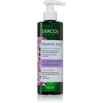 Vichy Dercos Vitamin A.C.E șampon revitalizant pentru strălucirea părului slab notino.ro