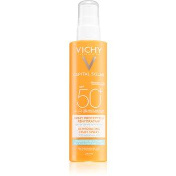 Vichy Capital Soleil Beach Protect spray multi protector împotriva deshidratării pielii SPF 50+ imagine 2021 notino.ro