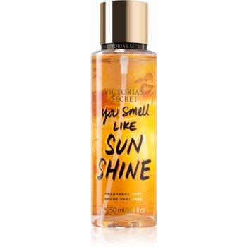 Victorias Secret Lets Get Away You Smell Like Sunshine spray de corp parfumat pentru femei